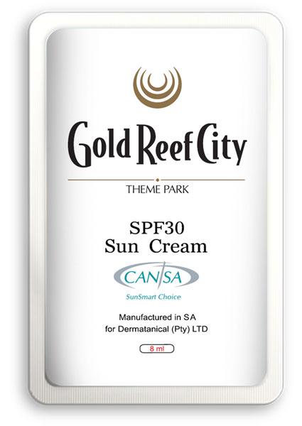 branded sun cream
